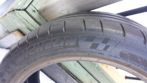 """michelin pilot super sport Not New 18""""  225/45zr18 Porsche BMW"""