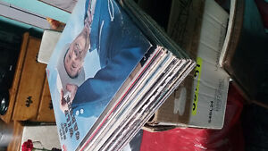 Stack of 32 LPs