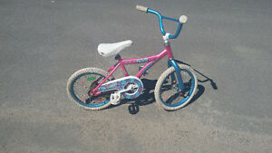 Girl's bike for sale. Wheel size 16""