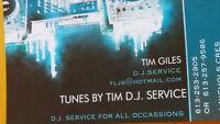 TUNES BY TIM D.J. SERVICE