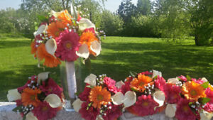 Bridal bouquets wedding flowers artificial