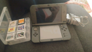 New 3ds XL with 6 games