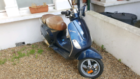 Used Vespa blue for Sale in London | Motorbikes & Scooters | Gumtree