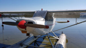Piper PA-12/150 Super Cruiser on Floats