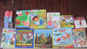 ASSORTED CHILDREN'S  \BOOKS