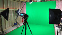 Continuous Lighting Studio Package - Green Screen Too!
