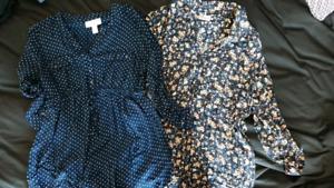 Maternity shirts -$40