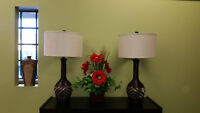 Paired Zebra Lamp Collection PRICE REDUCED