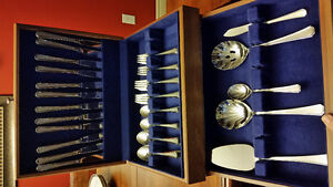 Flatware Chest and 12 place settings