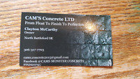 Need Concrete work done?