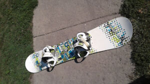 Ride splash 155 snowboard