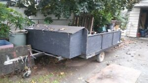 utility trailer 8x6.5 ft