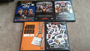 WWE/TNA Wrestling DVDS