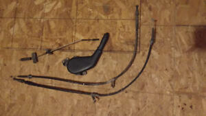 90-05 Miata MX5 Emergency Hand Brake Handle Lever and Cables