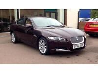 2013 Jaguar XF 3.0d V6 Luxury (Start Stop) Lo Automatic Diesel Saloon