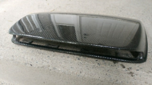 Subaru sti carbon hood scoop