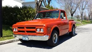 GMC 1968 SHORT BOX STEP SIDE Model 910(comme un C/10) 402 p.c. a