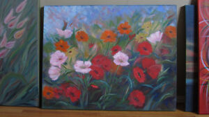 Beautiful painting -oil on canvas -perfect cond-ready to hang St. John's Newfoundland image 2