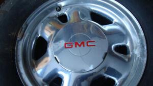 michelin lt245 75 16 winter snowflake tires on gmc 6 bolt 1500