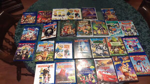 Disney and kids DVDs and blu rays FOR SALE!!!!