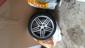 Mercedes RIMS & TIRES PACKAGE FOR ONLY $400 Can deliver for free