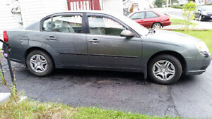 2005 Chevrolet Malibu With 4 Brand New Goodyear Winter Tires