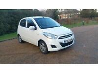 Hyundai i10 1.2 Active, 1 Owner, Long MOT, Low Mileage, 2013 (63 reg)