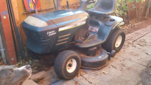 Craftsman limited edition riding lawn mower