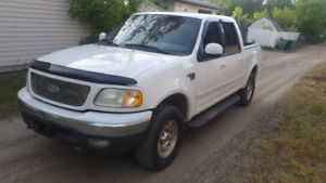 2003 F150 XLT 4x4 Supercrew Automatic Safetied  $3000