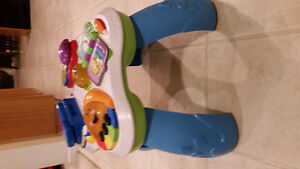 NEW PRICE !Fisher Price chair, activity table and ride on walker Cambridge Kitchener Area image 3