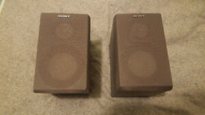 Sony Bookcase speakers