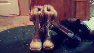 Rugged Out Back Winter boots