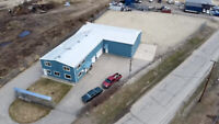 Prime Industrial Building on 1 Acre Lot For Sale