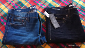 2 pairs Bluenotes jeans -new