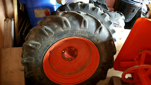 Tractor tires and wheels
