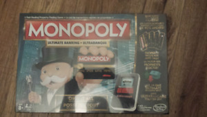 Monopoly: Ultimate Banking Edition.