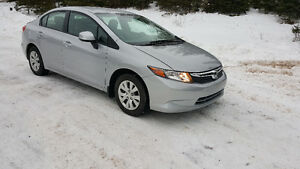 2012 Honda Civic LX Sedan-36000 KMS!!!!!