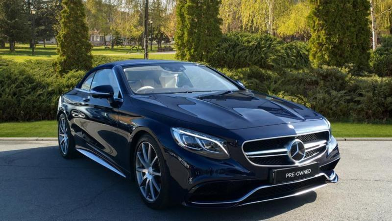 2016 Mercedes Benz S Cl Amg S63 2dr Automatic Petrol Cabriolet