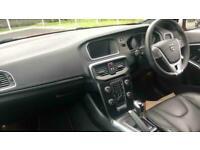 2019 Volvo V40 T2 R-DESIGN PRO MANUAL Leather, Rear Parking Camera, Satellite Na