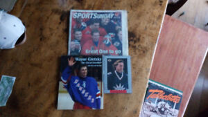 Gretzky book and card for sale