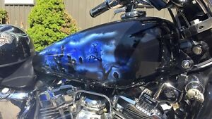 MOTORCYCLE PAINT/BODY/AIRBRUSHING/HYDROGRAPHICS