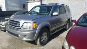 Toyota sequoia limited 7seater  $4500