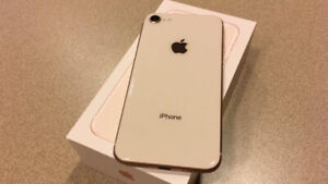 FACTORY UNLOCKED APPLE IPHONE 8 64GB WHITE GOLD BOXED $549