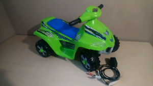 Kids 6v fourwheeler