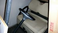 clubcar golf car with charger