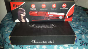 HAIR EXTENSIONS AND STRAIGHTENER DEAL!
