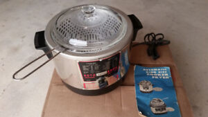 Roto-Broil Automatic Cooker  (Deep) Fryer