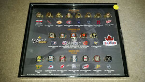 COMPLETE SET OF NHL MOLSON RINGS!! Only 225$.................... London Ontario image 3