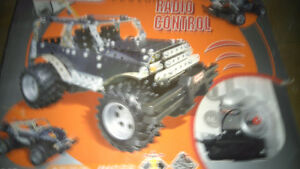 Radio controlled meccano jeep