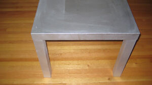 Silver Ikea Side or Coffee Table